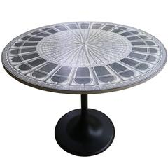 "Piero Fornasetti ""Architettura"" Table, Signed and Limited Edition"