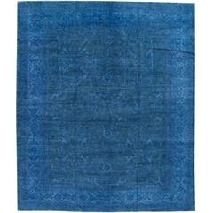 Great Looking Modern Overdyed Rug