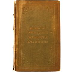 Recollections and Private Memoirs of Washington First Edition