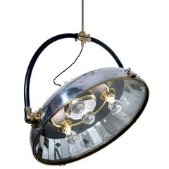 "Memorizing French ""Scialytique"" 50 Mirror Operating Room Lamp"