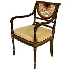 Regency Style Vintage Armchair