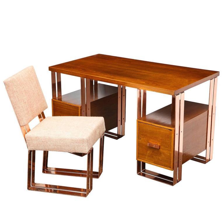 Donald Deskey Rare Desk and Chair 1