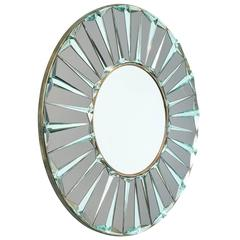 """Onix,"" Circular Mirror by Ghiró Studio"
