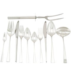 American Sterling Silver Canteen of Cutlery for Six Persons by Reed and Barton