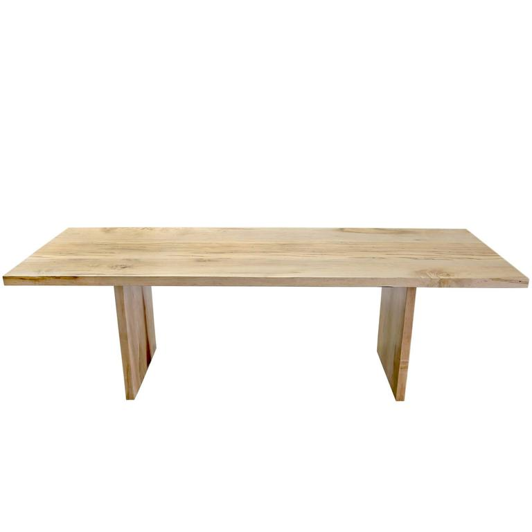 Maple Hardwood Farmhouse Communal Table