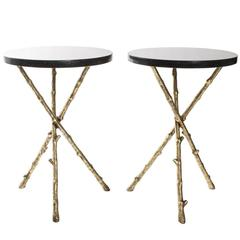 Faux Twig Drinks Tables