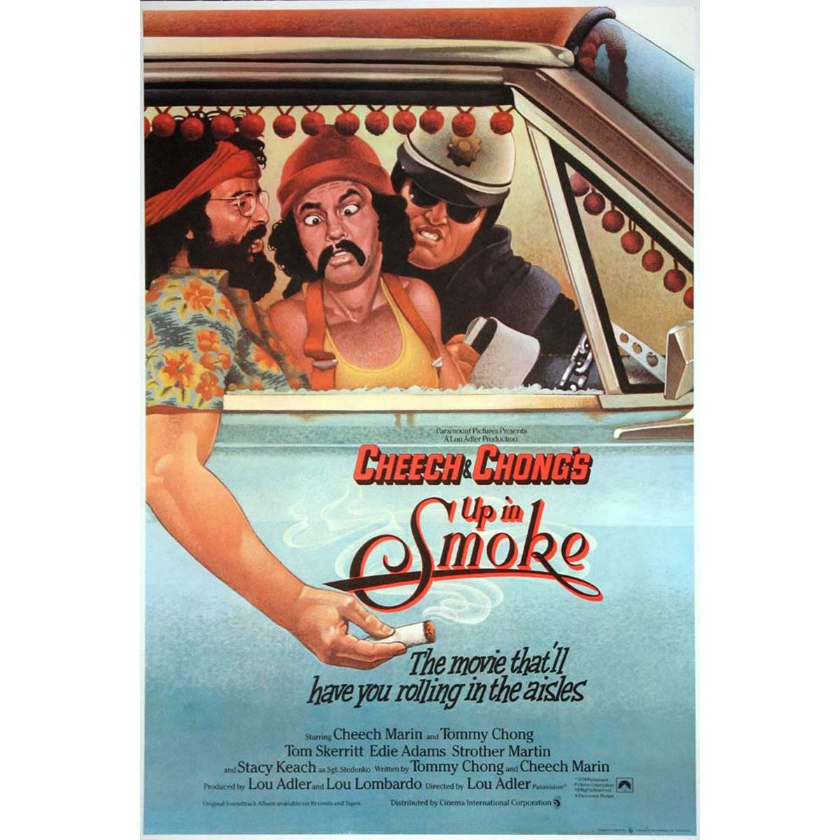 """""""Up In Smoke"""" Film Poster, 1978"""