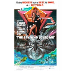 """""""The Spy Who Loved Me"""" Film Poster, 1977"""
