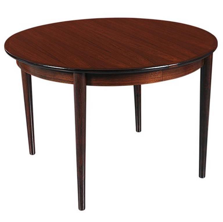 Danish Modern Rosewood Dining Table at 1stdibs : 1org9l from www.1stdibs.com size 768 x 767 jpeg 25kB