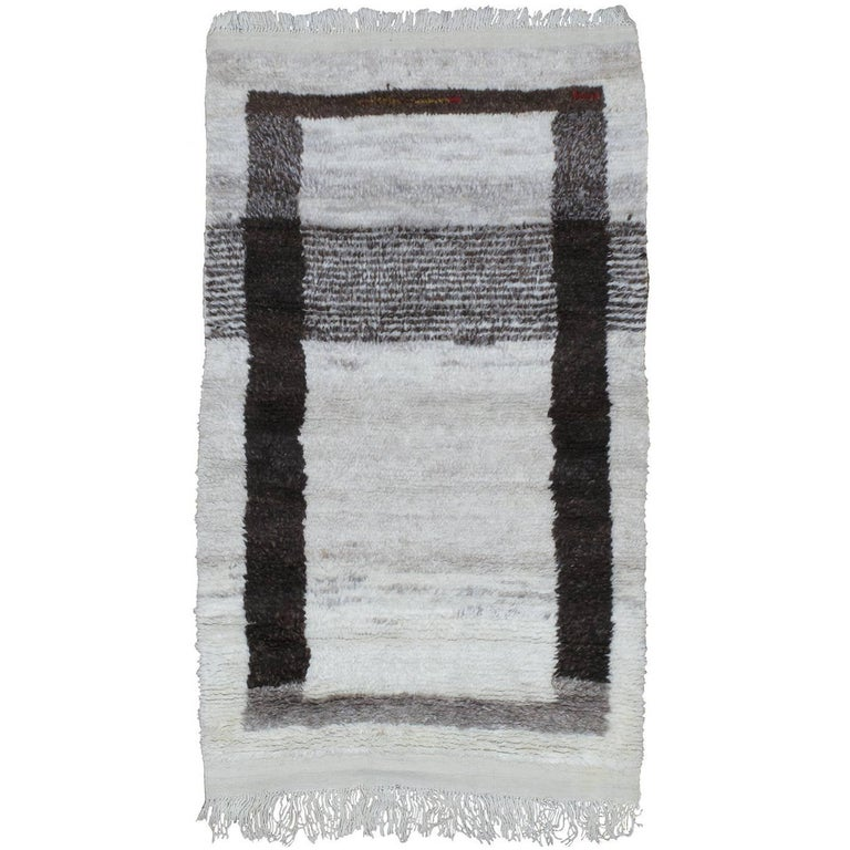 "Small ""Tulu"" Rug with Border For Sale"