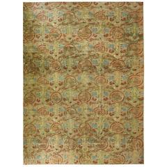 Semi Antique Afghani Carpet For Sale At 1stdibs