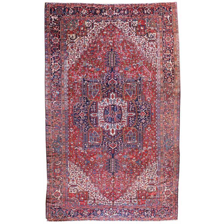 Persian Karaja Serapi Carpet
