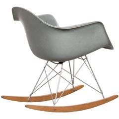 Eames Sea Foam Green Rar Herman Miller USA Rocking Chair, 1960s