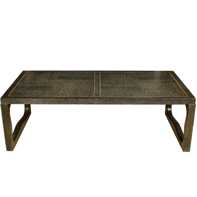 Cerused Oak Cocktail Table