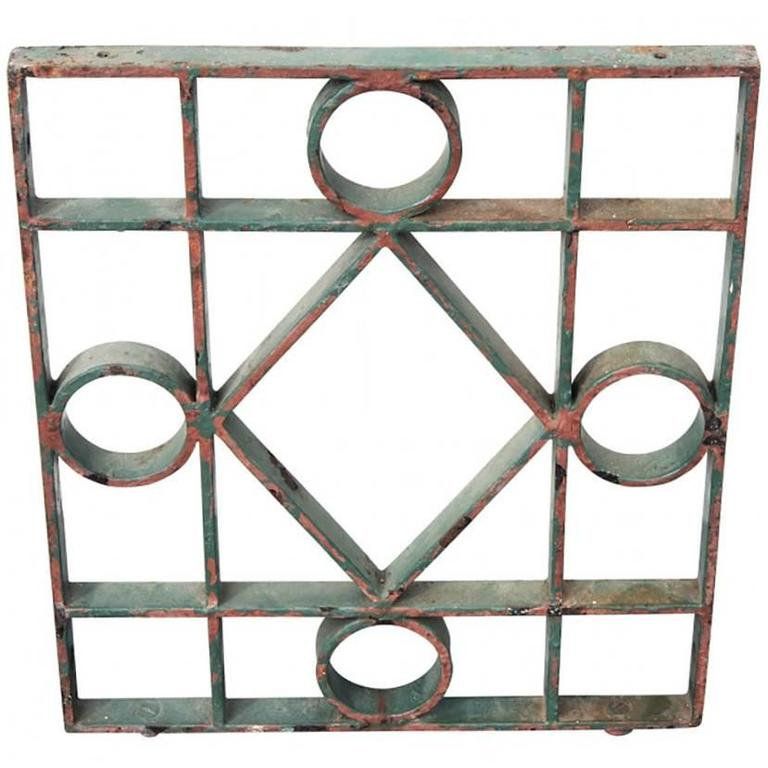 Antique NYC Grate Panel
