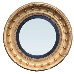 English Convex Mirror, circa 1820
