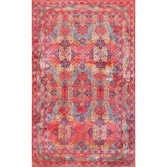 Oversized Antique Kashan Persian Rug