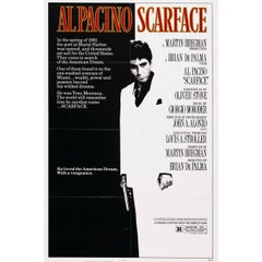 """""""Scarface"""" Film Poster, 1983"""