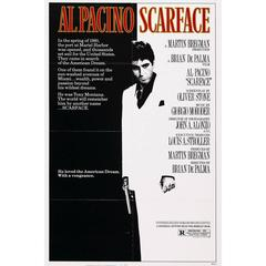 """Scarface"" Film Poster, 1983"