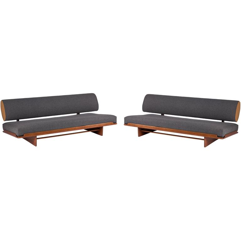 Rare Pair of Grete Jalk Daybeds, 1965