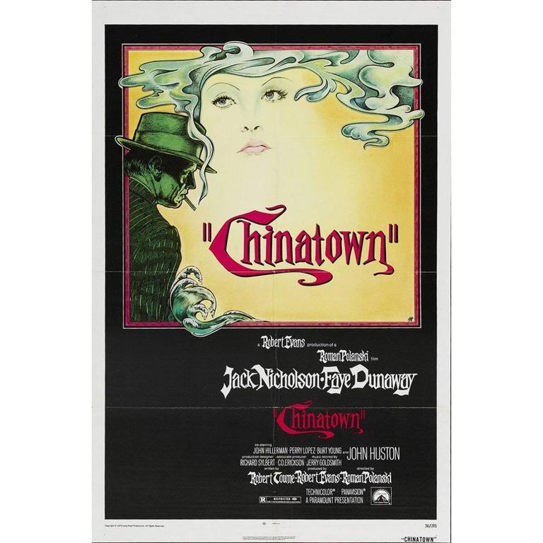 """Chinatown"" Film Poster, 1974"