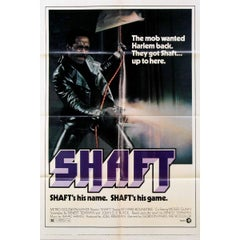"""Shaft"" Film Poster, 1971"