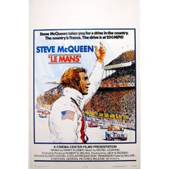 """""""Le Mans"""" Film Poster, 1971"""