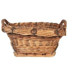 Antique Olive Basket