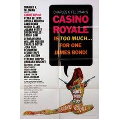 """Casino Royale"" Film Poster, 1967"