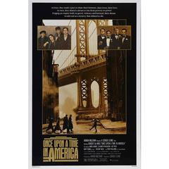 """Once Upon a Time in America"", Poster, 1984"