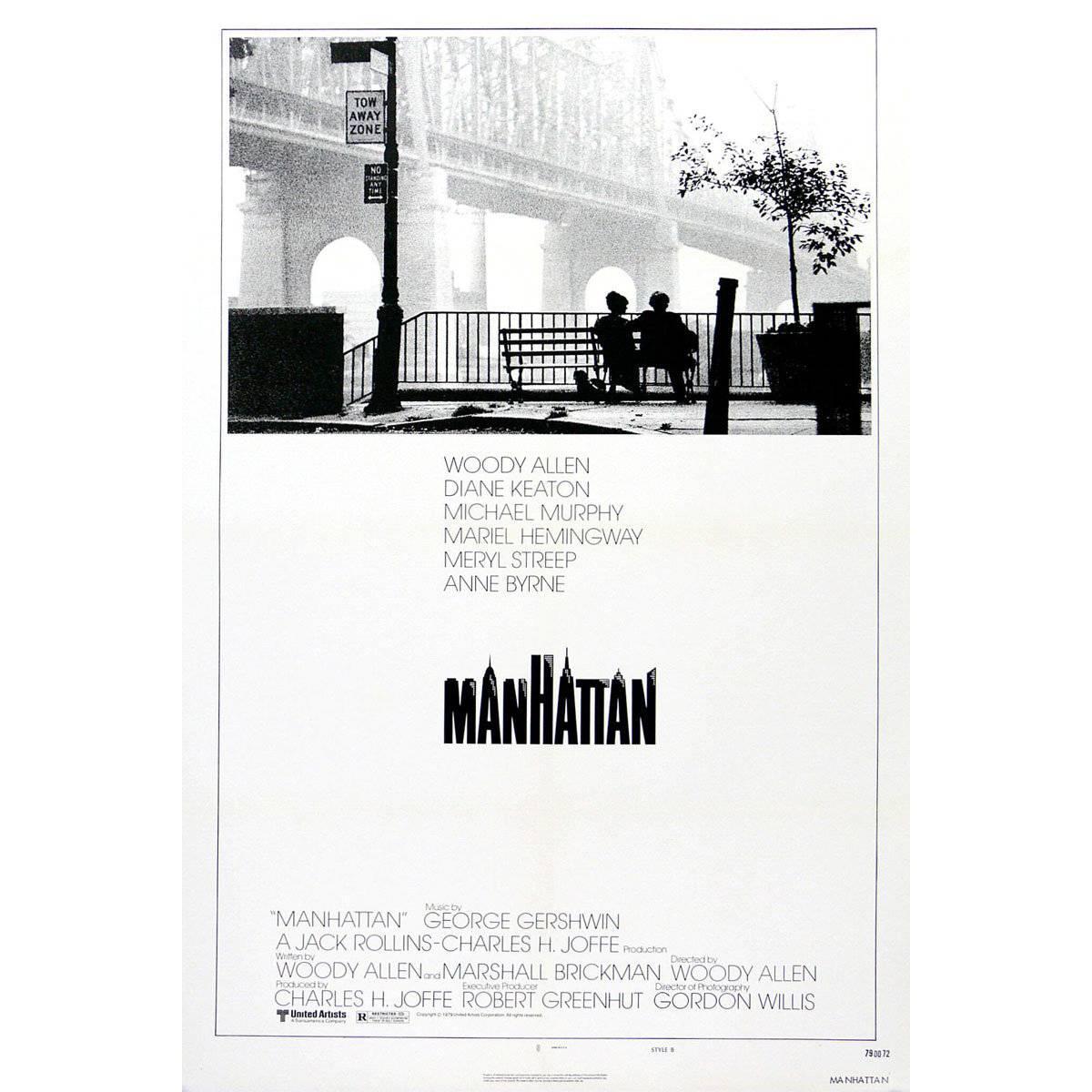 """Manhattan"" Film Poster, 1979"
