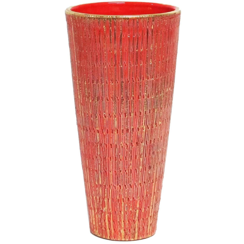 Bitossi ceramic vase gold purple aldo londi seta signed italy aldo londi bitossi ceramic vase seta orange gold signed italy 1960s reviewsmspy