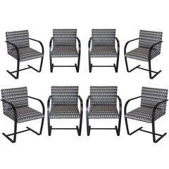 Vintage Flat Bar Brno Chairs in Custom Finish
