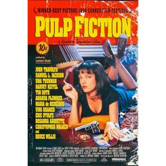 """Pulp Fiction"" Film Poster, 1994"