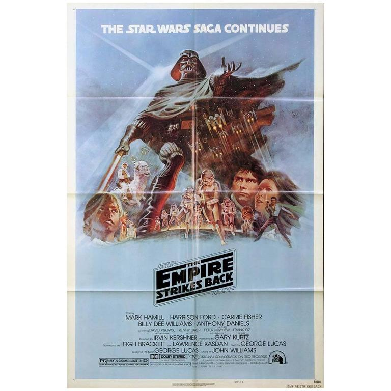 """The Empire Strikes Back"", Poster, 1980"