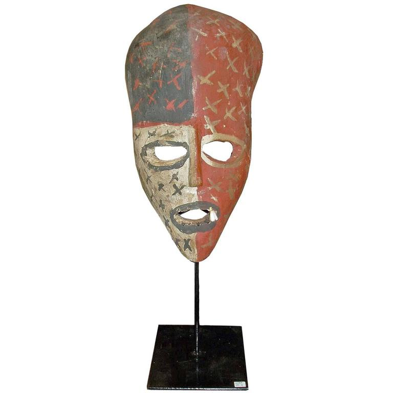 Wood Mask from Congo