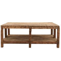 19th Century Blacksmith's Table