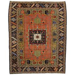 Contemporary Persian Heriz Rug with Modern Style