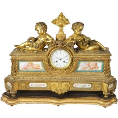 Large 19th Century French Mantel Clock
