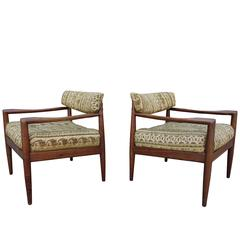 Mid-Century Adrian Pearsall Lounge Chairs 'Pair'