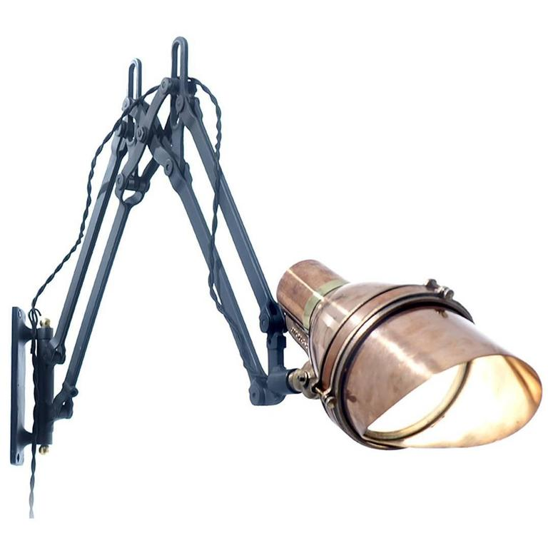Articulated Swing Arm Spot Light