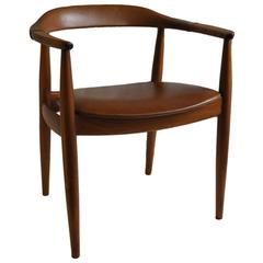 Illum Wikkelso chair for N. Eilersen.