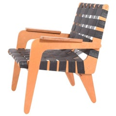 1940s Klaus Grabe Plywood Armchair