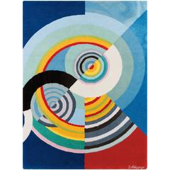 "Robert Delaunay ""Rythme III"" Tapestry, France"