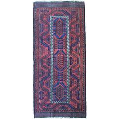 19th Century Uzbek Silk And Cotton Silk Warp Cotton Weft