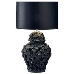 Black Petals Lamp
