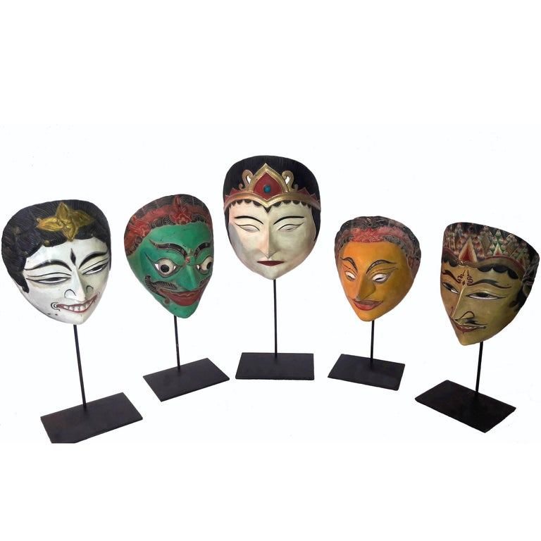 Indonesian Masks