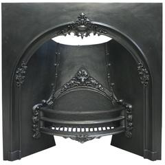 Mid-Victorian Arched Register Grate