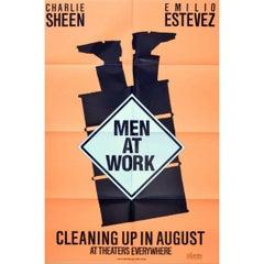 """""""Men At Work"""" Film Poster, 1990"""