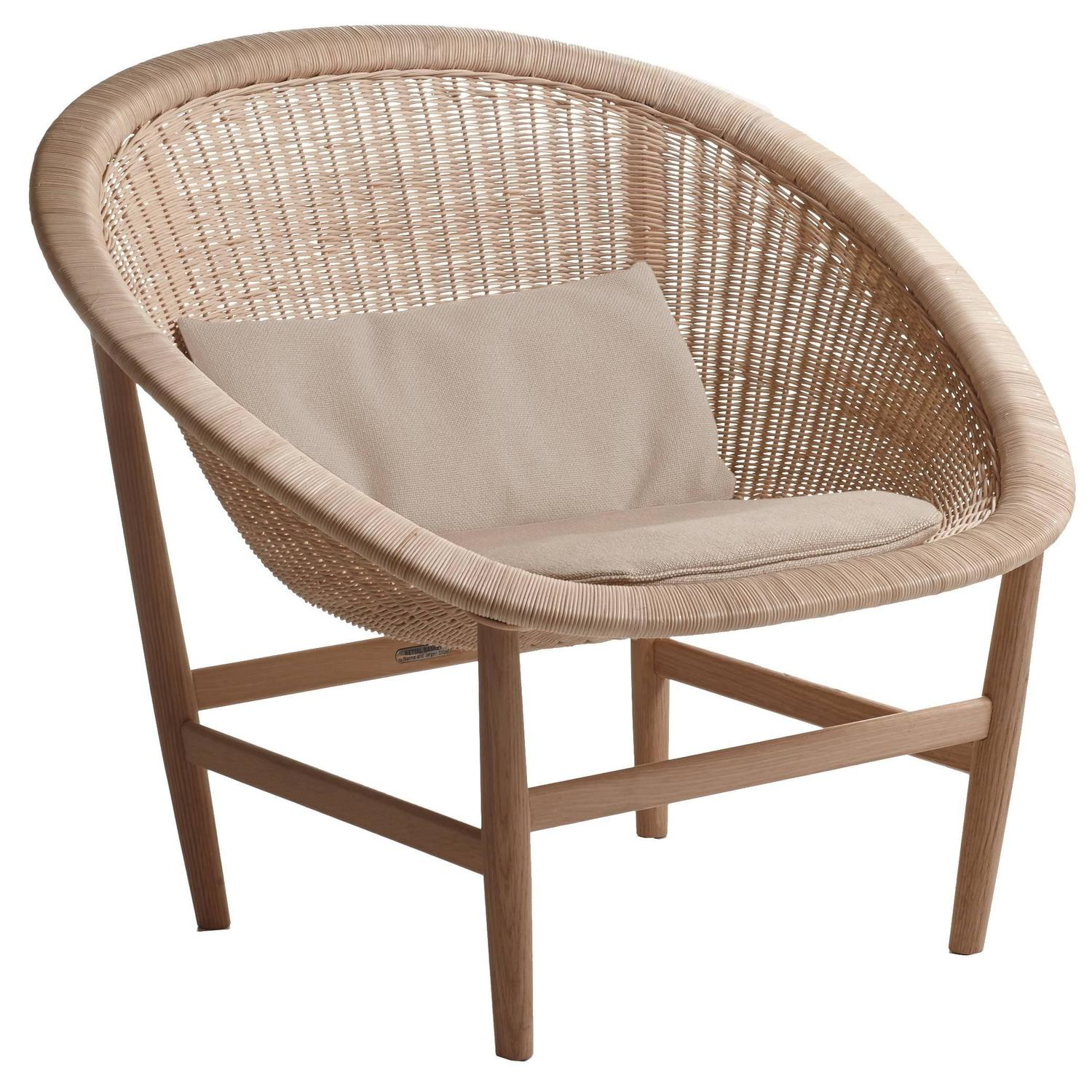 kettal basket chair for indoor or outdoor use for sale at 1stdibs